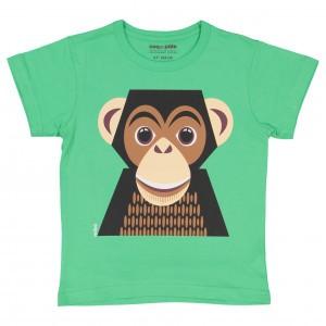 Coq en Pate T-shirt met korte mouwen Chimpansee