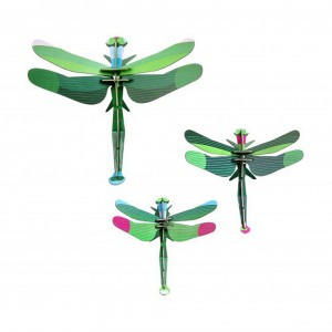 Studio Roof 3D Insects - Dragonflies (set van 3)