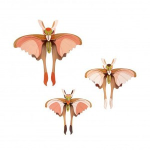 Studio Roof 3D Insects - Comet Butterflies (set van 3)