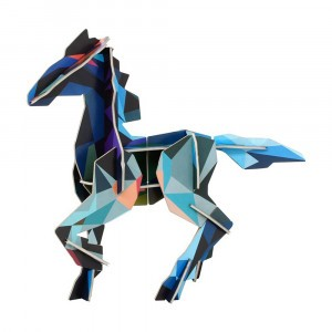 Studio Roof 3D Totem Deco - Frysk Horse