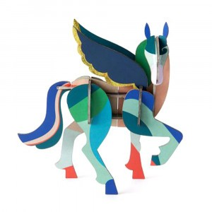 Studio Roof 3D Mythical Figurines - Pegasus