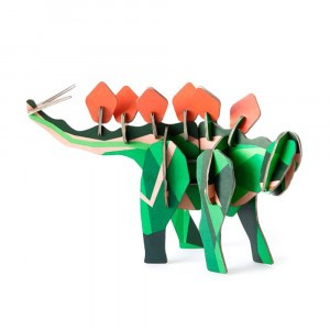 Studio Roof 3D Mythical Figurines - Stegosaurus