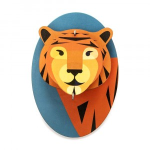 Studio Roof 3D Trophee Little Friends - Tiger