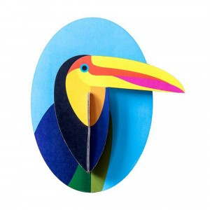 Studio Roof 3D Trophee Little Friends - Toucan
