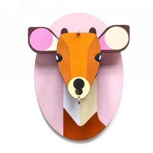 Studio Roof 3D Trophee Little Friends - Fawn