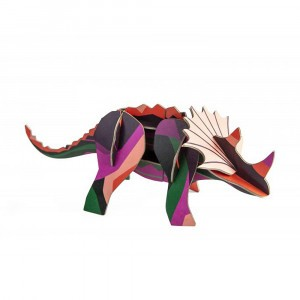 Studio Roof 3D Mythical Figurines - Triceratops