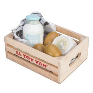Le Toy Van Honeybake Kistje met Eitjes & Zuivel