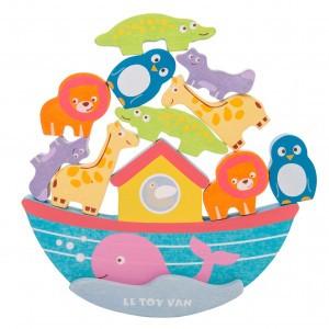 Le Toy Van Evenwichtsspel De Ark van Noah