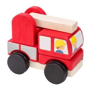 Le Toy Van Stapel Brandweerwagen
