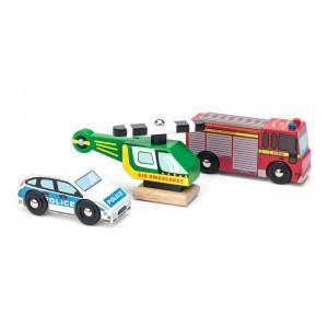Le Toy Van Noodgevallen Voertuigen