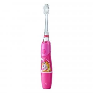 Brush Baby KidzSonic Elektrische Tandenborstel +3 jaar Unicorn Roze