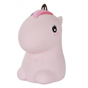 MyKelys Silicone LED Lamp Unicorn Roze