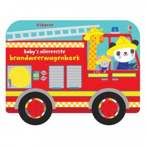 Usborne Baby's allereerste Brandweerwagen boek