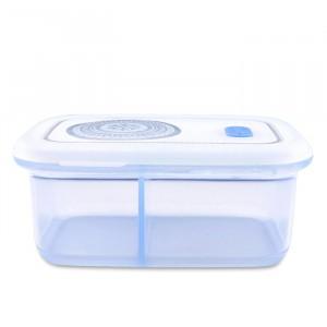 Haakaa Silicone Bewaardoos met 2 vakken (900 ml) Blauw