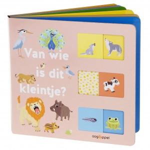 Oogappel Schuifboekje Van wie is dit kleintje?