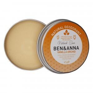 Ben & Anna Deodorant Blikje Vanilla Orchid