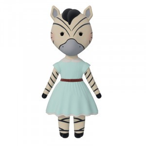 VaniMeli Doll Zebra
