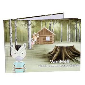 """VaniMeli Boek """"VaniMeli vindt een nieuwe vriend"""""""