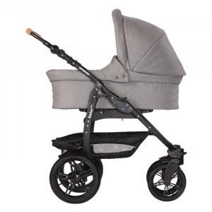Naturkind Kinderwagen + Reiswieg Varius Pro Siebenschläfer