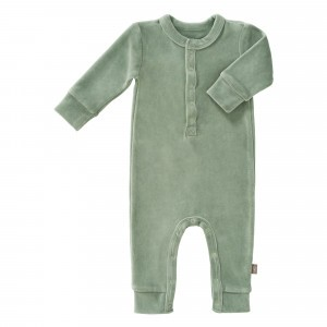 Fresk Pyjama Velours Forest Green