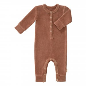 Fresk Pyjama Velours Tawny Brown