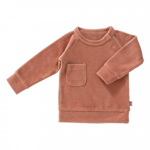 Fresk Sweater Velours Ash Rose