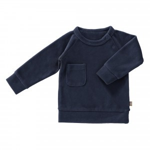 Fresk Sweater Velours Indigo
