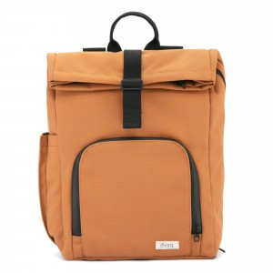 Dusq Vegan Bag Canvas Sunset Cognac