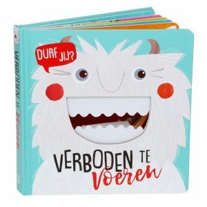 Standaard uitgeverij Voelboekje Verboden te voeren