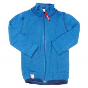 Woolpower Thermisch Vest met rits - Dolphin Blue