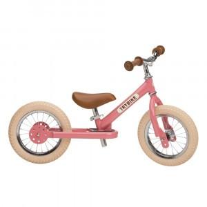 Trybike Steel Tweewieler Vintage Pink