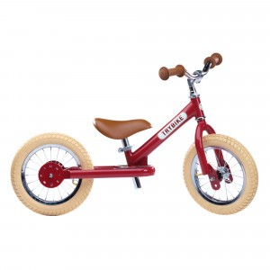 Trybike Steel Tweewieler Vintage Red