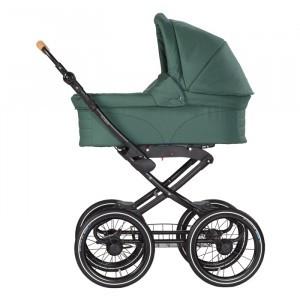 Naturkind Kinderwagen + Reiswieg Vita Salbei