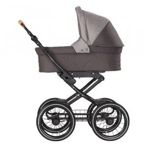 Naturkind Kinderwagen + Reiswieg Vita Waschbär