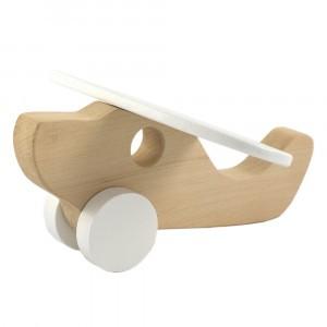 Pinch Toys Houten Duwfiguur Maxi Vliegtuig