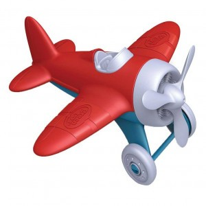 Green Toys Vliegtuigje Rood