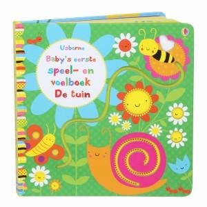 Usborne Speel- en Voelboekje Baby De tuin