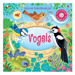 Usborne Geluidenboekje Vogels