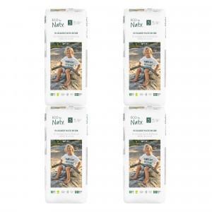 Naty Eco Wegwerpluiers Maat 5 (40 stuks x 4 pakken) Voordeelpakket