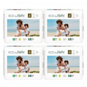 Naty Eco Oefenbroekjes Maat 4 (22 stuks x 4 pakken) Voordeelpakket
