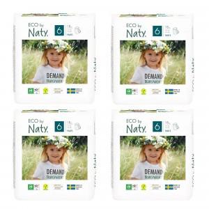 Naty Eco Oefenbroekjes Maat 6 (18 stuks x 4 pakken) Voordeelpakket