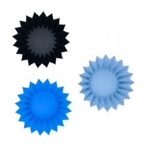 Lunch Punch Silicone Vormpjes Blauw
