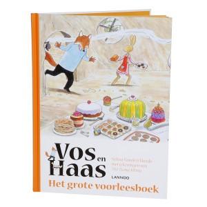 Lannoo Boek Vos en Haas 'Het grote voorleesboek'