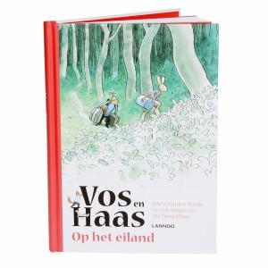 Lannoo Boek Vos en Haas 'Op het eiland'
