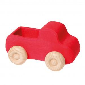 Grimm's Vrachtwagen Rood (13,5 cm)
