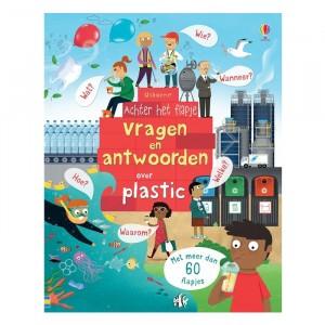 Usborne Flapjesboek Vragen en antwoorden over plastic