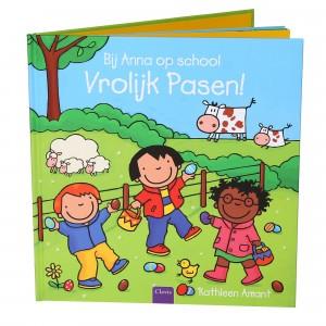 Clavis Leesboekje Bij Anna op school. Vrolijk Pasen!