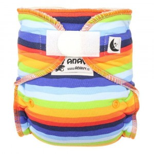 Anavy Nachtluier XL met velcro Rainbow (6-18 kg)