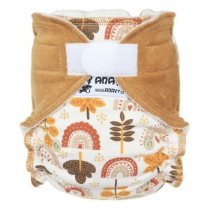 Anavy One Size Luier met Velcro Autumn (4-15 kg)