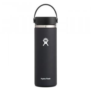 Hydro Flask Insulated Drinkfles Wide Mouth 2.0 w/ Flex Cap (591 ml) Black